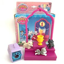 Vintage 1993 Kenner Littlest Pet Shop Prize Winning Pups Boxed