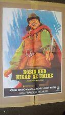 Robin Hood Never Dies Robin Hud Nikad Ne Umire Original Yugoslavian Movie Poster