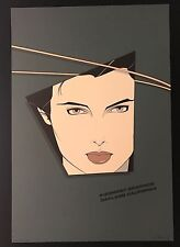 "Patrick Nagel ""Piedmont Graphics 1982"" Signed in Plate"