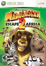 MADAGASCAR ESCAPE 2 AFRICA XBOX 360 GAME PAL FORMAT EXCELLENT CONDITION