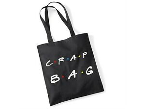The One With Princess Consuela - Crap Bag Novelty Friends Gift Black Tote Bag