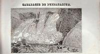 INDIA PUPPANASSUM XILOGRAFIA PRIMA META' '800 (1835 ?)  TRATTA DA LA MOSAIQUE