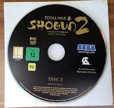 Total War-Shogun 2-pc-Gold Edition-sólo disc 3