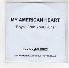 (FW433) My American Heart, Boys! Grab Your Guns - DJ CD