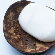 Handmade Soap Holder New Dish Coconut Shell Natural Eco Bathroom Kitchen Home