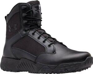 Under Armour Men's UA Stellar Tactical & Military Black Boots - 1268951-001