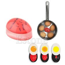 Egg Perfect Color Changing Timer Yummy Soft Hard Boiled Eggs Cooking Kitchen Hot