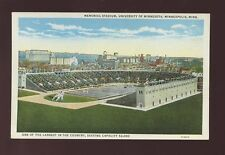 USA Memorial Stadium Minnesota University Minn c1920/30s? PPC