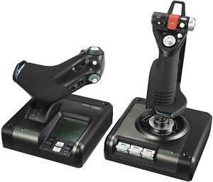 Logitech X52 Pro Flight Sim Controller HOTAS Factory Sealed never used