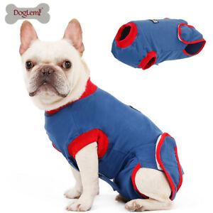 Pet Dog Sterilization Clothes Wound Protector Surgical Vest Puppy Recovery Suit