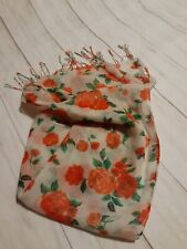 Women Flower Pattern Large Scarf Shawl Wraps Scarves Beautiful