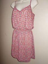 New American Rag Womens Size S Sundress Semi-Sheer Lined Dress Adjust Straps