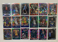 2018-19/2019-20 Prizm basketball lot of (18)Color/silver Bazley,Collins,Mitchell