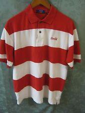 Vintage Coca Cola Polo Shirt Size Medium