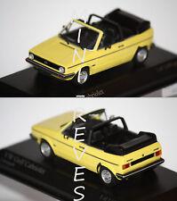 Minichamps Volkswagen Golf Cabriolet 1980 Jaune 1/43 400055130
