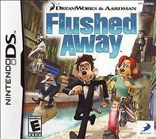 Flushed Away (Nintendo DS, 2006)       COMPLETE         FAST SHIPPING !!!!