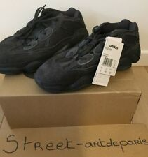 ADIDAS Yeezy 500 ULTIMATE BLACK 41 1/3 US 8 UK 71/2 RUNNING LTD ED KAWS BANKSY