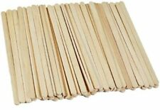 Standard size wooden natural lollypop sticks lolly pop plain 140 mm pack of 100
