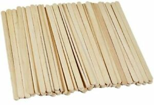 wooden natural lollypop shape sticks approx size  190 mm pack of 100