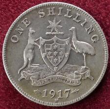 Australia Shilling 1917 M (B1509)