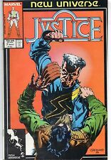 Marvel Comics Justice #7 May 1987 New Universe VF