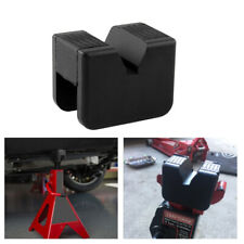 A pair Universal Slotted Frame Stand 2-3T Ton F Jack Pads Adapter Rubber