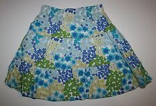 New Gymboree Sea Splash Summer Floral Print Tiered Skirt Size 4 Year NWT