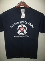 World Space Expo USAF Thunderbirds Jets Kennedy Space Center 2007 USA T Shirt Sm