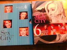 Sex and the City - Saison 4 + 6 [8 DVD]  Frankreich / Staffel 4+6