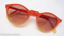 Sunlight gafas de sol plástico rojo naranja vasos de plástico 75% marrón nuevo size M