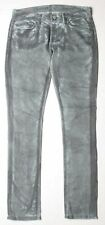 7 For All Mankind Roxanne Classic Skinny Jeans 24 Grey P179729S