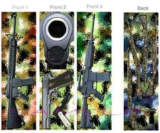 3 Lot-RIFLE Gun BOOKMARK m16 m4 m1911 Theme Military Hunting Hand Laws Book ART