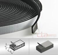 10 m Rolle Moosgummi Selbstklebend 10x4 mm Zellkaukautschuk EPDM schwarz 1C16-14