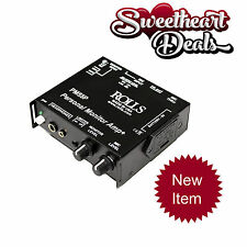 NEW Rolls PM55P Stereo Personal Monitor Amplifier Amp with Optical Limiter
