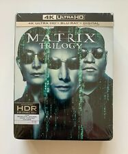 New ListingThe Complete Matrix Trilogy 4K Ultra Hd Blu-ray - Includes Digital Copy