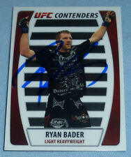 Ryan Bader Signed UFC 2011 Topps Title Shot Contenders Card PSA/DNA COA Auto'd