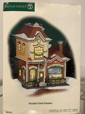 Department 56 Paradise Travel Company Christmas In The City Series