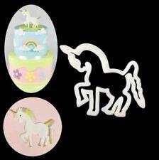 New Hot Unicorn Pony Cutter sugarpaste Shower Cake Cupcake Gumpaste UK Seller