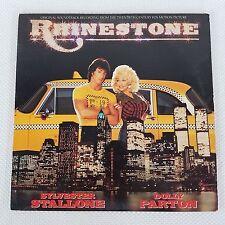 Rhinestone Dolly Parton Sylvester Stallone Movie Soundtrack Record Vinyl Album