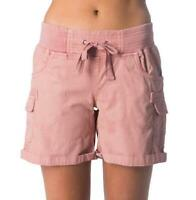 Rip Curl ALMOST FAMOUS II SHORT Womens Casual Cargo Shorts New - GWAAY1 Mushroom