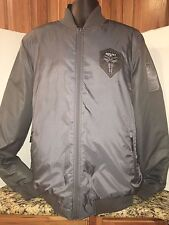 NIKE Kobe Bryant Men's Thermore Reversible Gray Jacket Rare Unreleased XLT