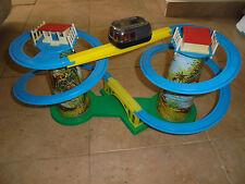 "Vintage 70's ""circuit train sur pont suspendu"" made in Greece! MIB"