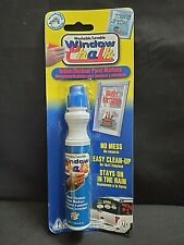 Blue Windshield Paint Marker Indoor / Outdoor Window Chalk Temporary Paint Pens