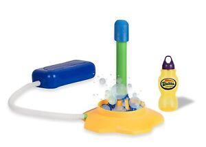 Rocket Launcher Bubbles Outdoor Toys For Kids - 8.5 Oz Bubble Solution