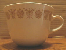 1 Vintage Pyrex Gold Butterfly Corning Ware 8 Ounce Coffee Mug