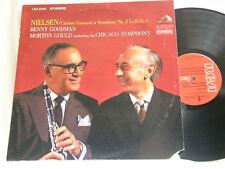 NIELSEN Clarinet Concerto Symphony 2 BENNY GOODMAN Morton Gould RCA LP
