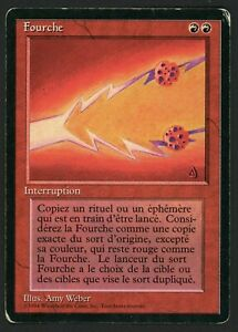 ***1x FBB French Fork*** MTG Revised -Kid Icarus-