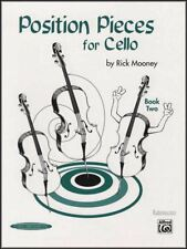 Position Pieces for Cello Book 2 Rick Mooney Sheet Music Learn to Play Method