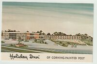 Unused Postcard Holiday Inn of Corning Painted Post New York NY