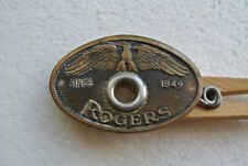 1950's ROGERS SINCE 1849 EAGLE BADGE + GROMMET for SNARE BASS & DRUM SET! #A587
